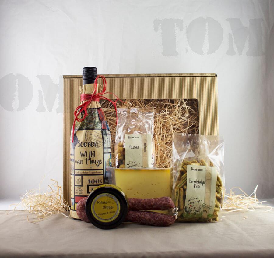 Kerstpakket Tom