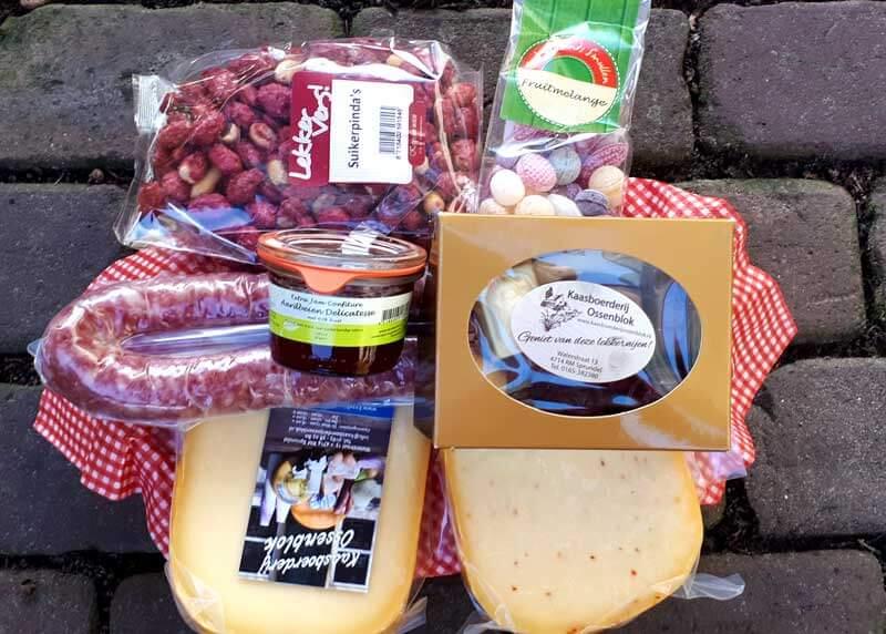 Kaaspakket van Kaasboerderij Ossenblok