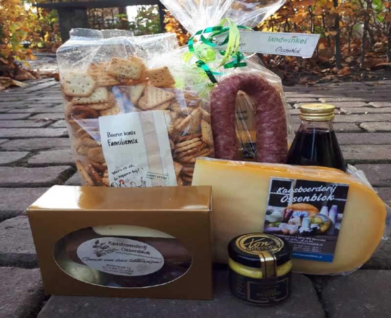 Cadeaupakket van Kaasboerderij Ossenblok